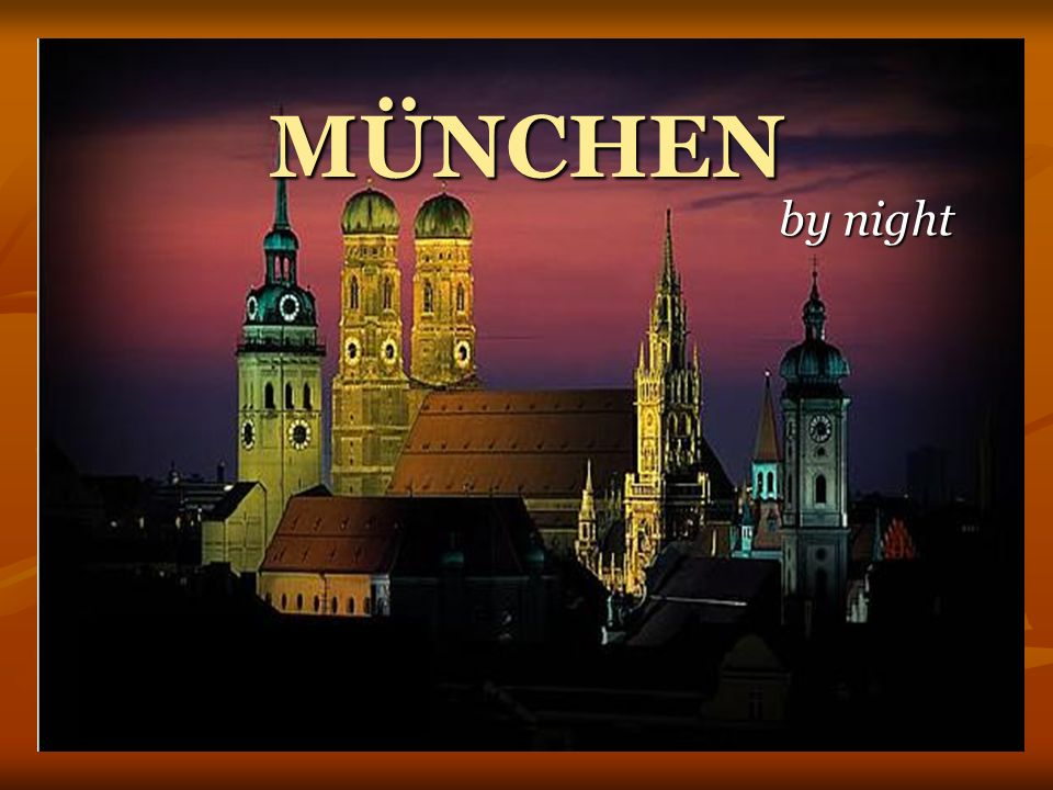 MÜNCHEN by night