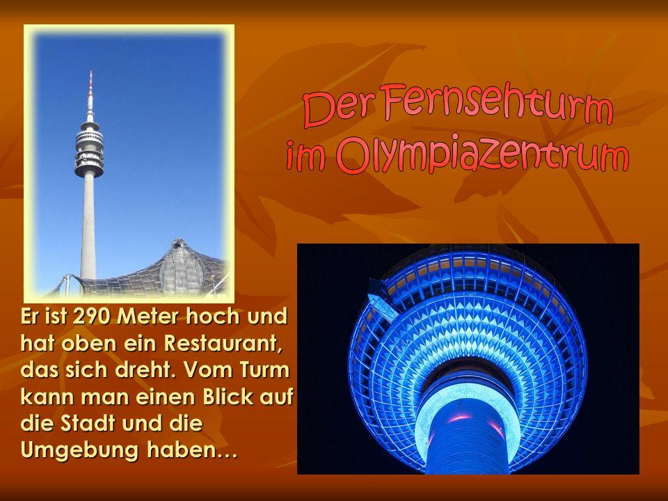 Der Fernsehturm im Olympiazentrum