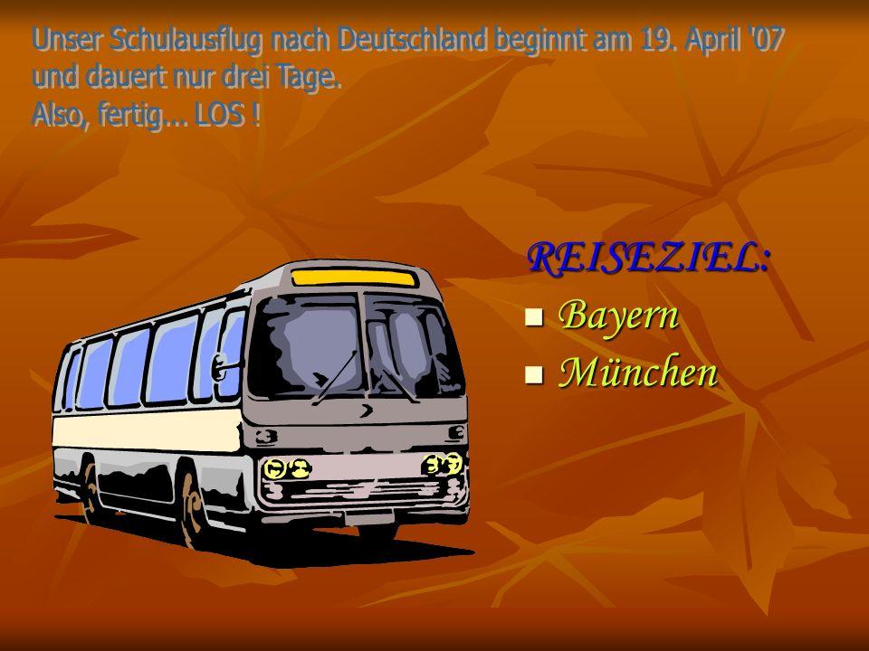 REISEZIEL: Bayern München