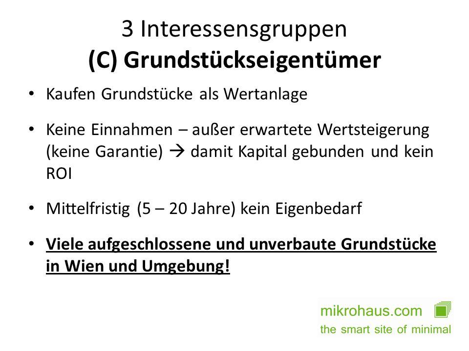 3 Interessensgruppen (C) Grundstückseigentümer