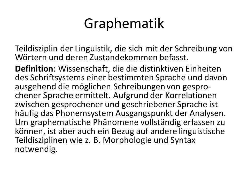 Graphematik