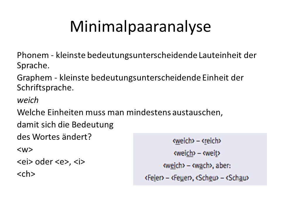 Minimalpaaranalyse