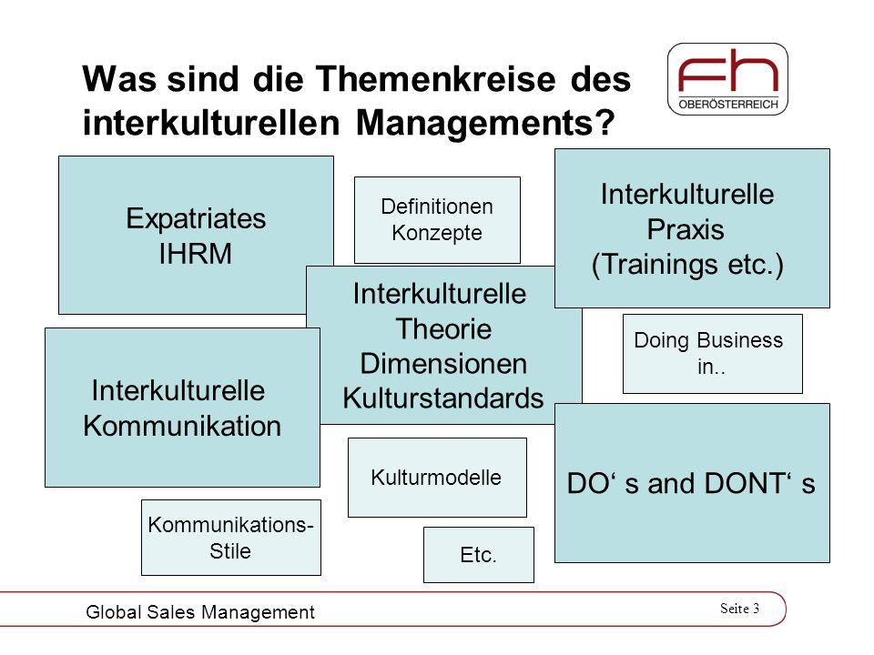 Was sind die Themenkreise des interkulturellen Managements