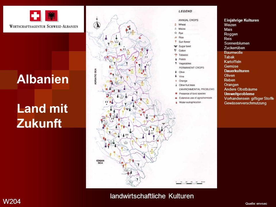 Albanien Land mit Zukunft rye landwirtschaftliche Kulturen W204