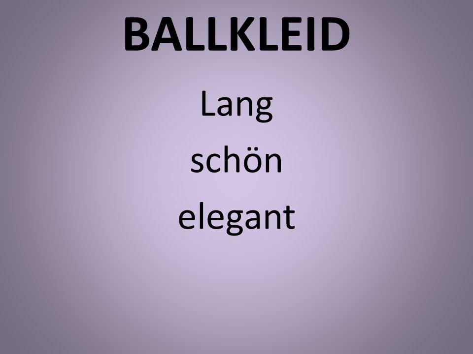BALLKLEID Lang schön elegant