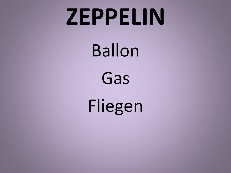 ZEPPELIN Ballon Gas Fliegen