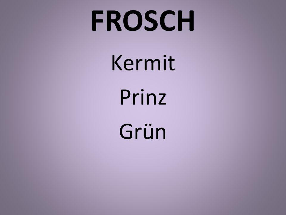 FROSCH Kermit Prinz Grün
