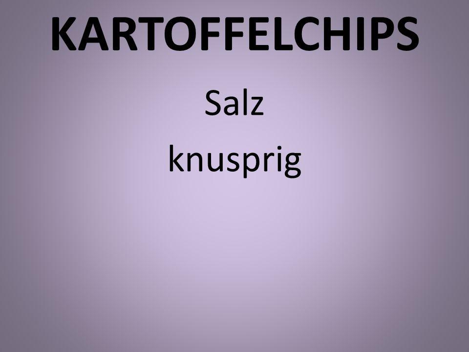 KARTOFFELCHIPS Salz knusprig