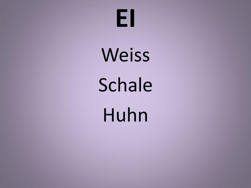 EI Weiss Schale Huhn