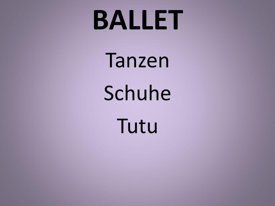 BALLET Tanzen Schuhe Tutu