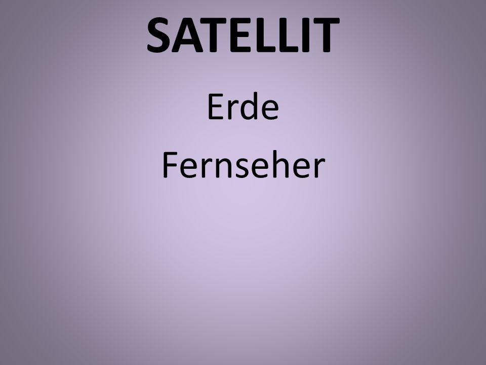 SATELLIT Erde Fernseher