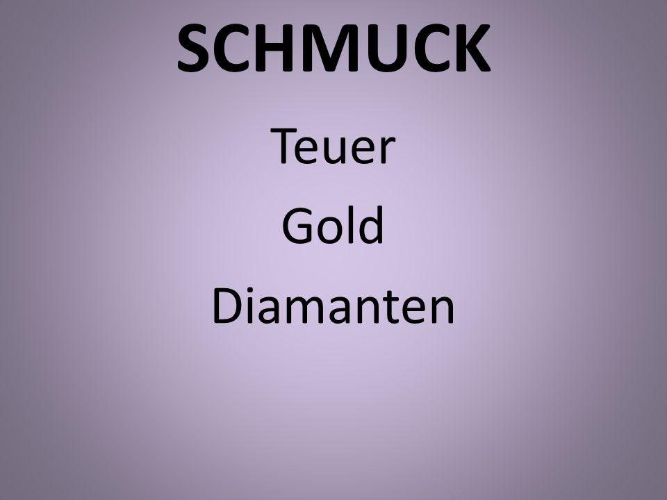 SCHMUCK Teuer Gold Diamanten