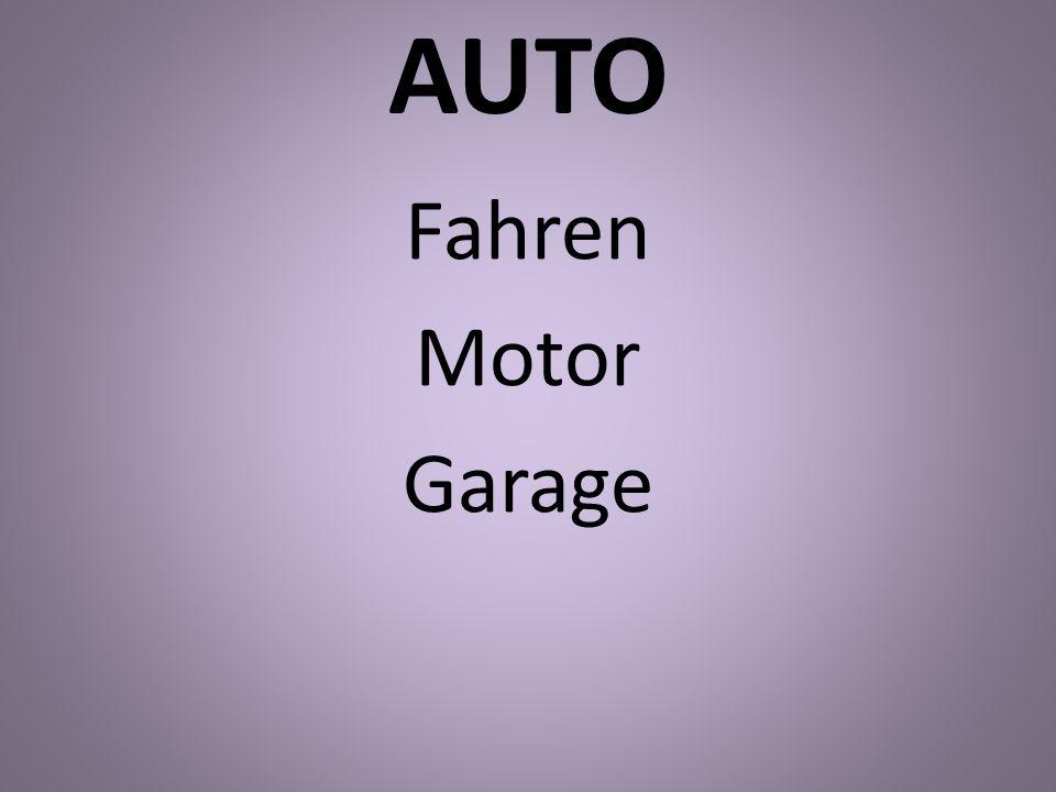 AUTO Fahren Motor Garage