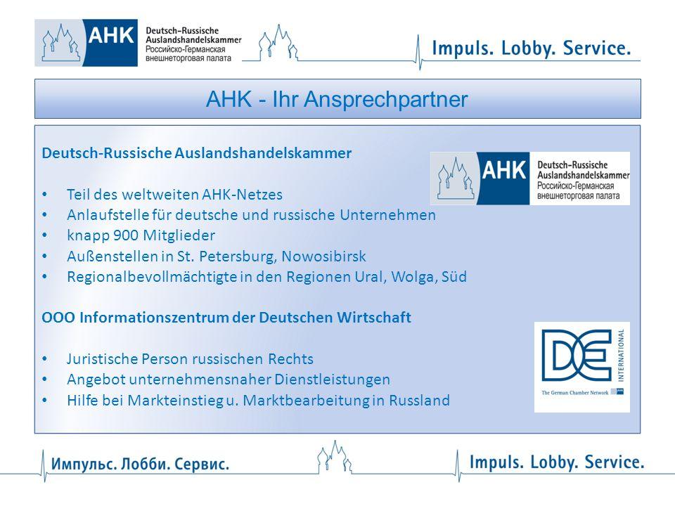 AHK - Ihr Ansprechpartner