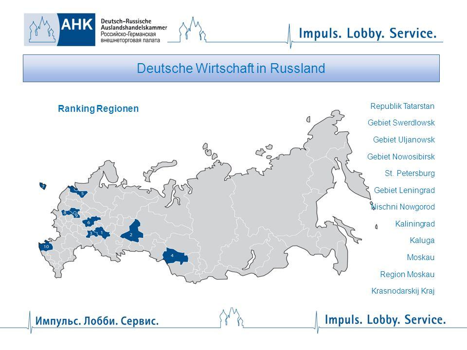 Deutsche Wirtschaft in Russland