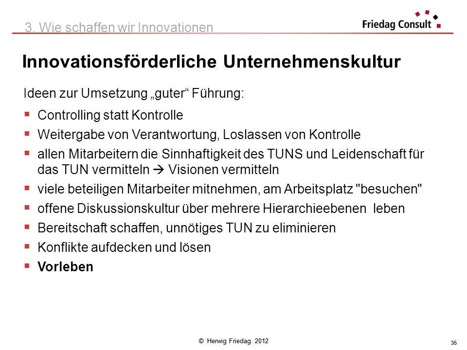 Innovationsförderliche Unternehmenskultur