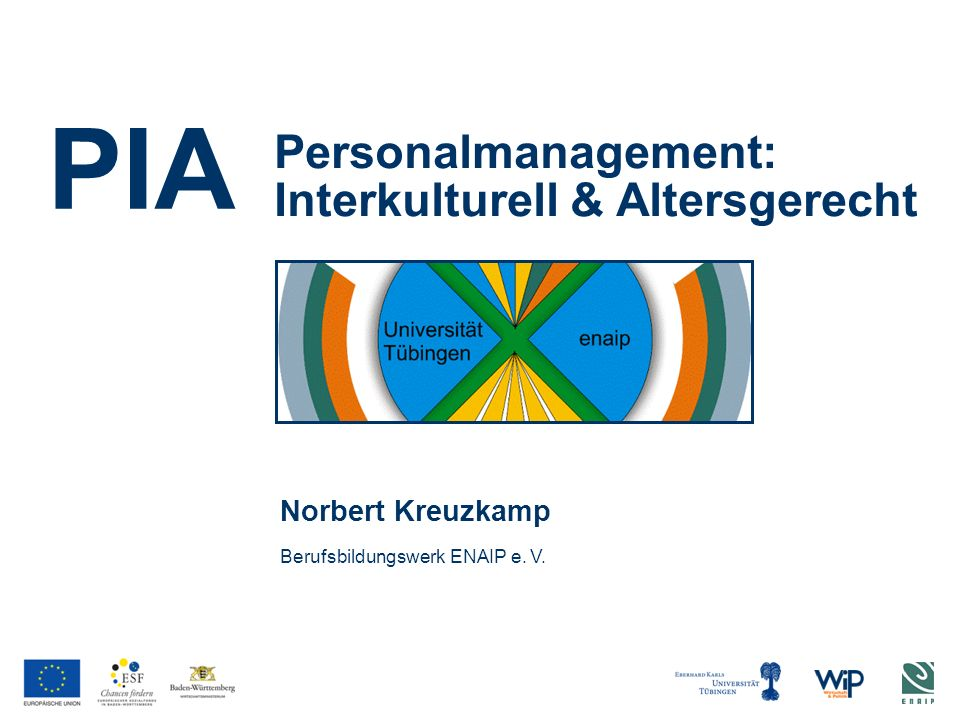 Personalmanagement: Interkulturell & Altersgerecht
