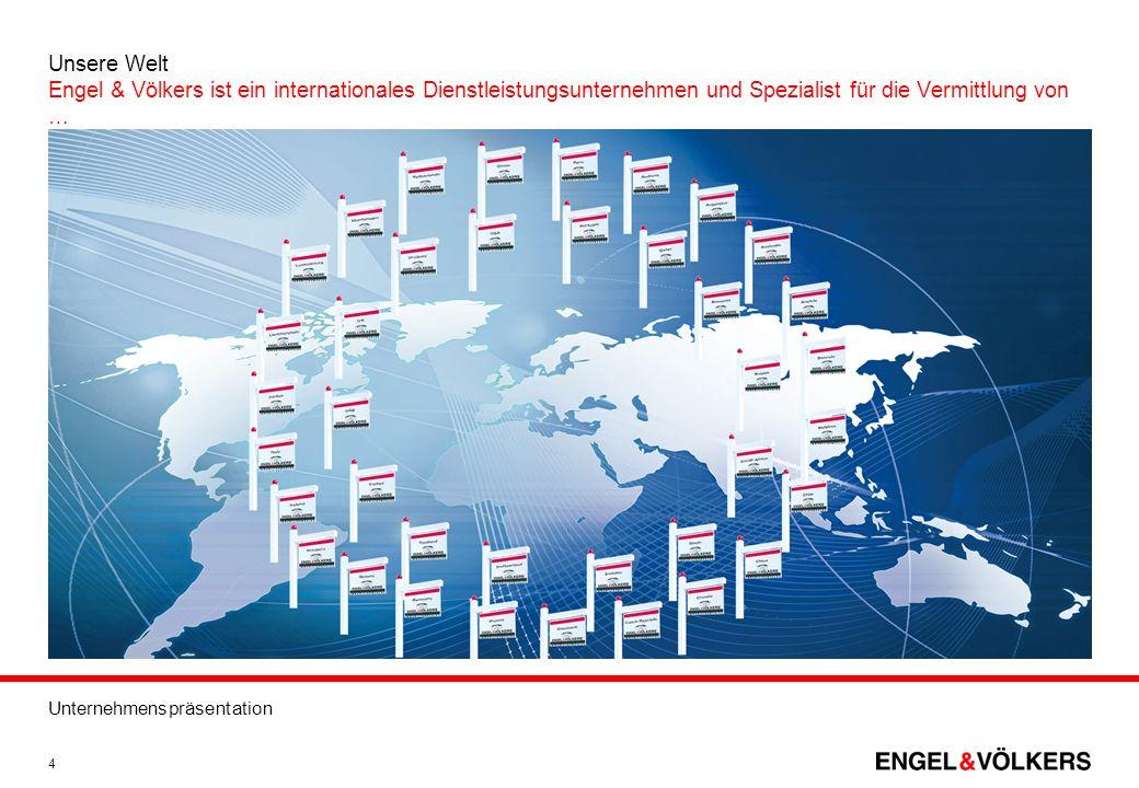 Unsere Welt Engel & Völkers ist ein internationales Dienstleistungsunternehmen und Spezialist für die Vermittlung von …