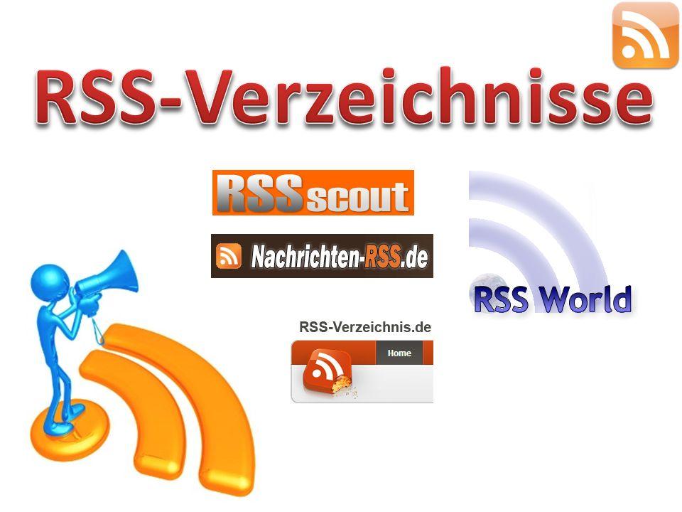 RSS-Verzeichnisse