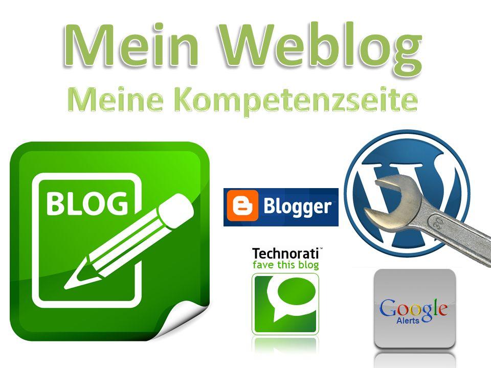 Mein Weblog Meine Kompetenzseite