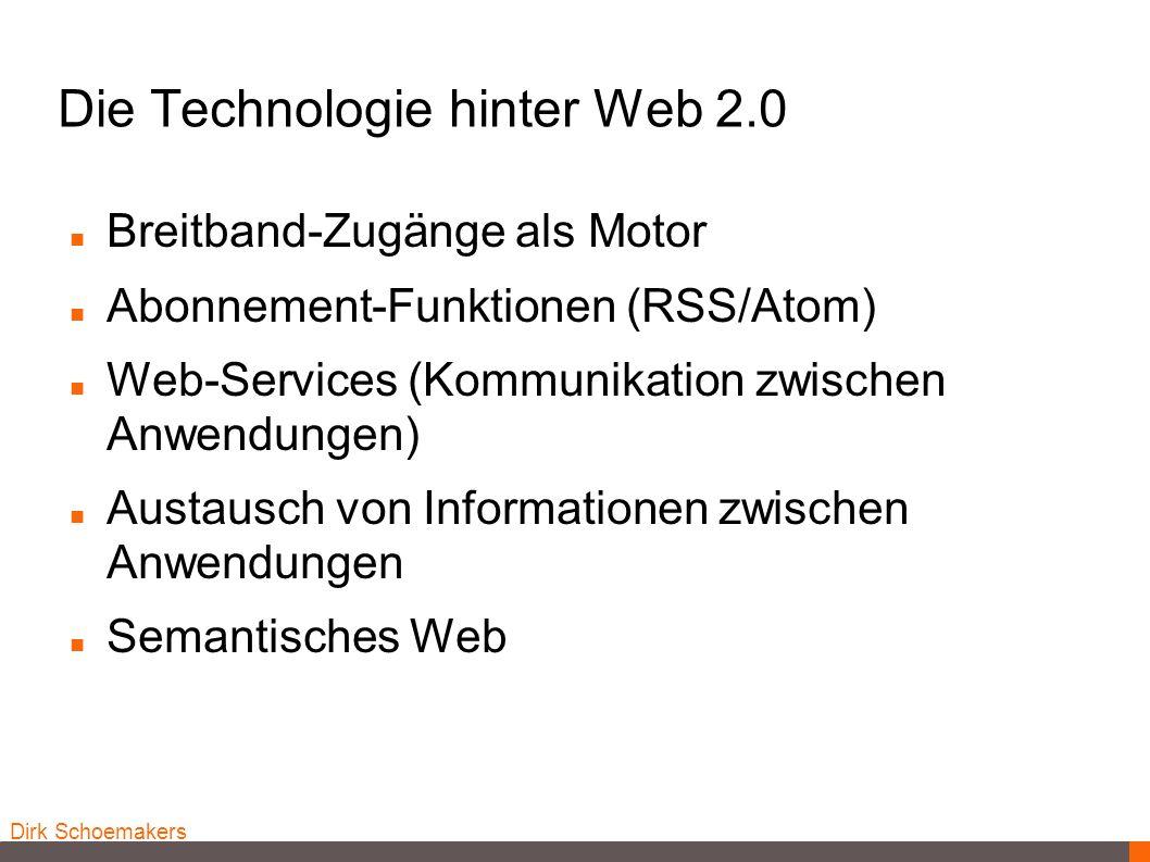 Die Technologie hinter Web 2.0