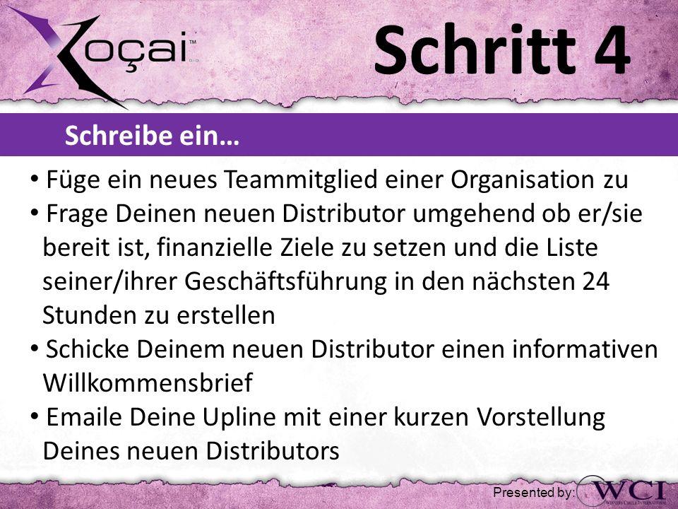 Schritt 4 Füge ein neues Teammitglied einer Organisation zu