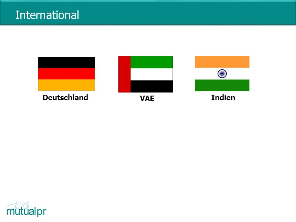 International Deutschland VAE Indien 5