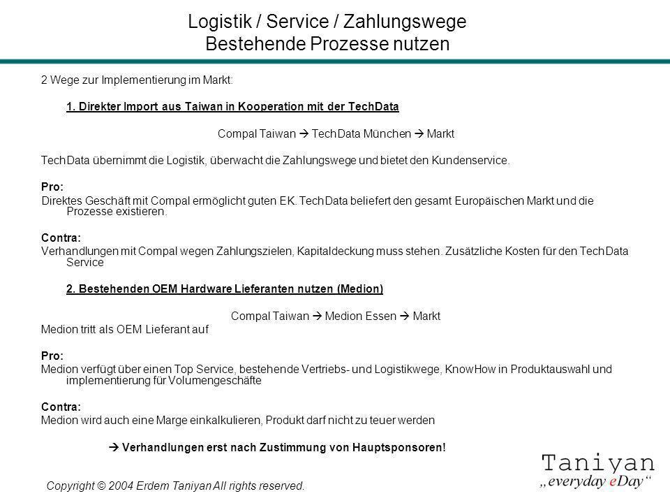 Logistik / Service / Zahlungswege Bestehende Prozesse nutzen