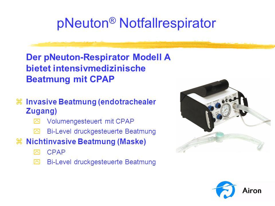 pNeuton® Notfallrespirator