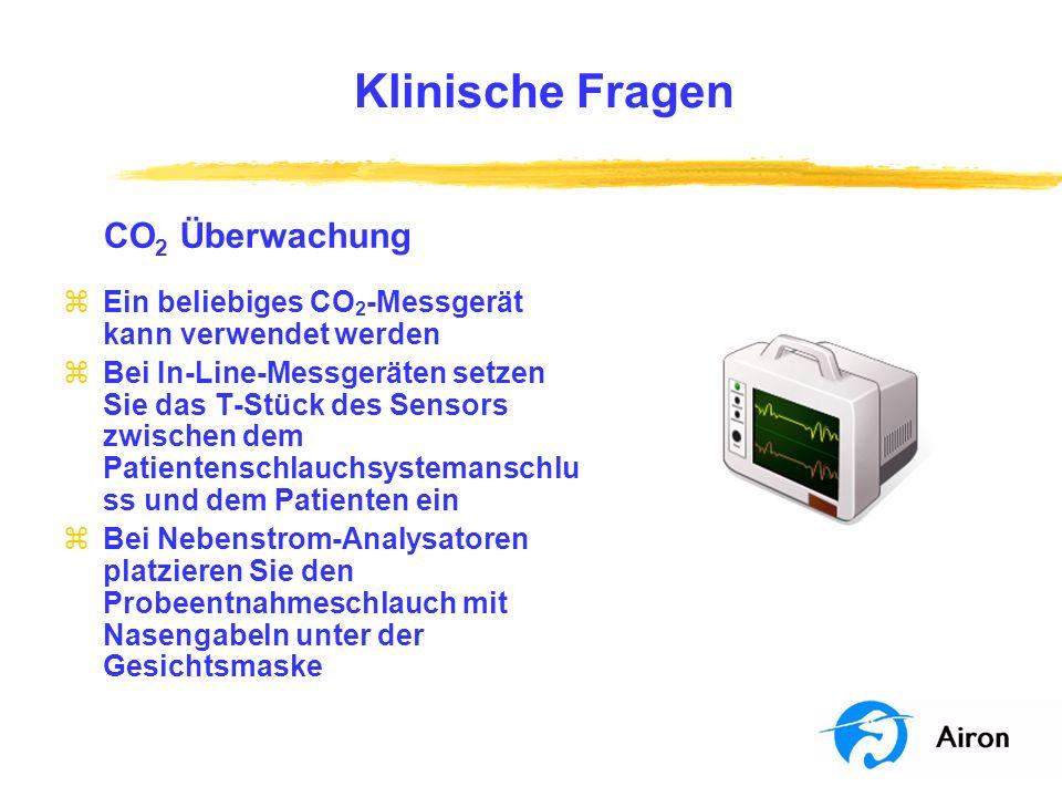 Klinische Fragen CO2 Überwachung