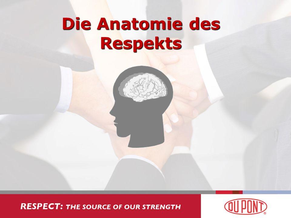Die Anatomie des Respekts