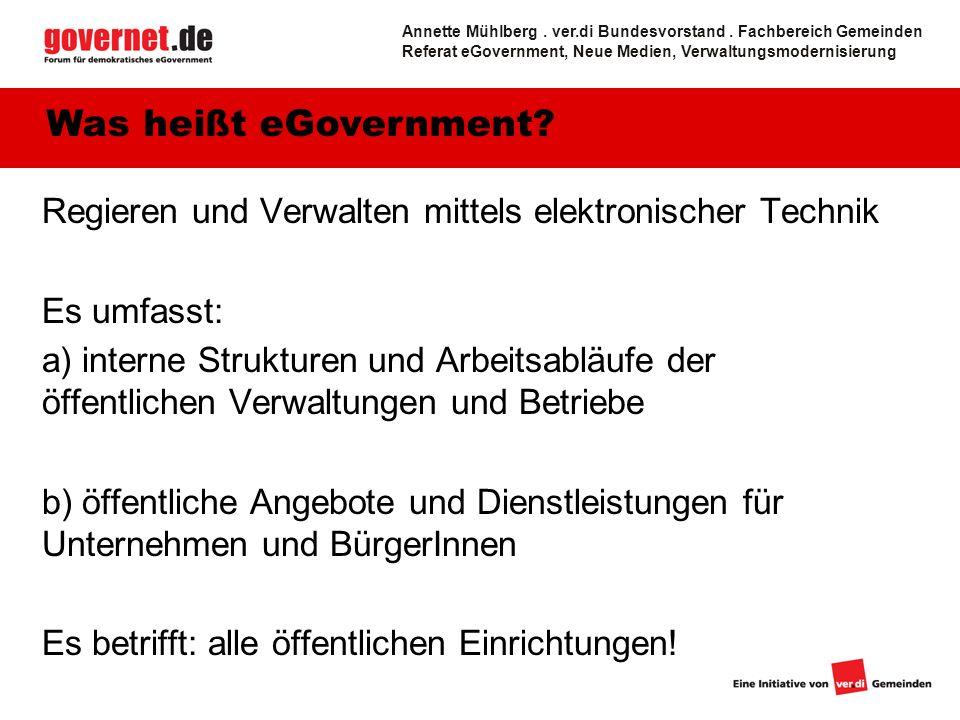 Annette Mühlberg . ver.di Bundesvorstand . Fachbereich Gemeinden