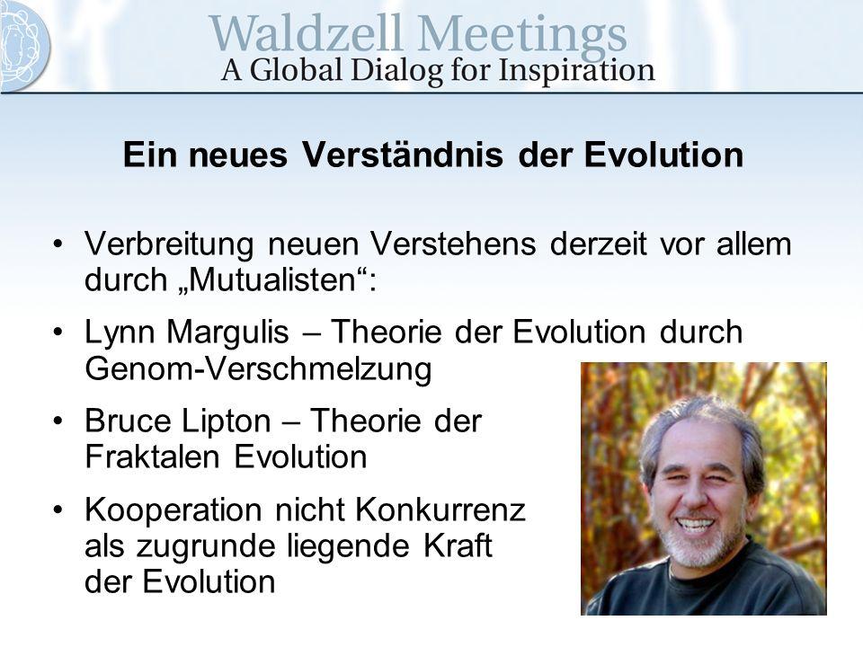 Ein neues Verständnis der Evolution