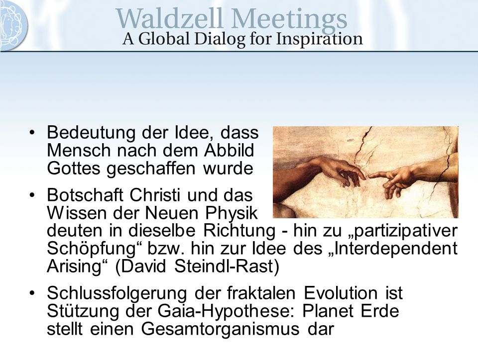 Bedeutung der Idee, dass Mensch nach dem Abbild Gottes geschaffen wurde