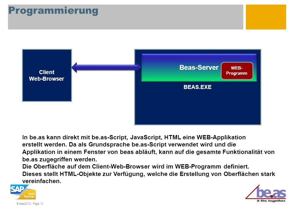 Programmierung Beas-Server