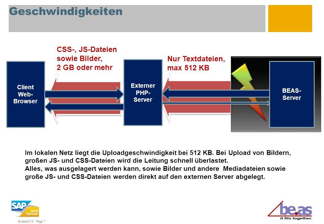 Geschwindigkeiten CSS-, JS-Dateien sowie Bilder, 2 GB oder mehr