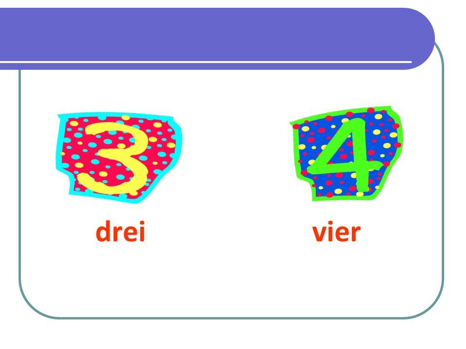 drei vier