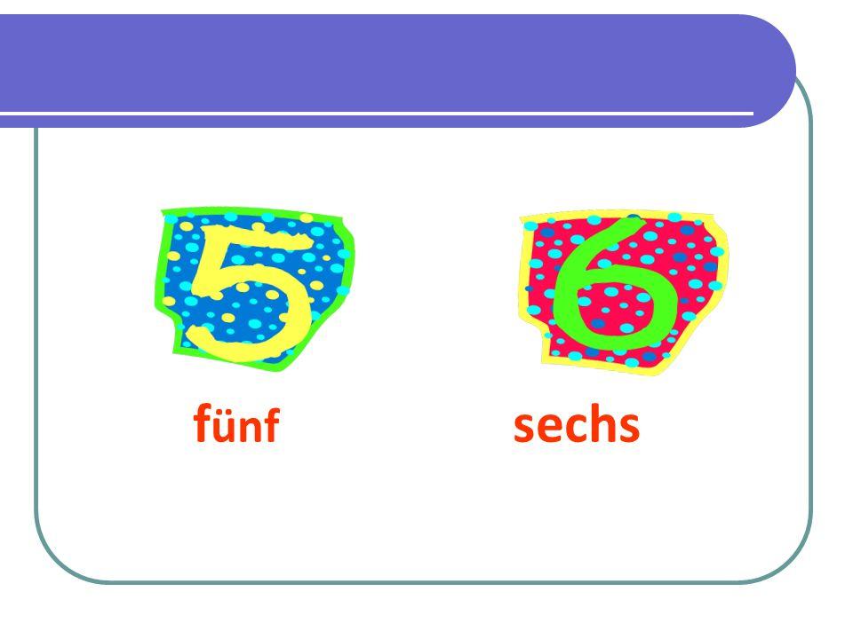 fünf sechs