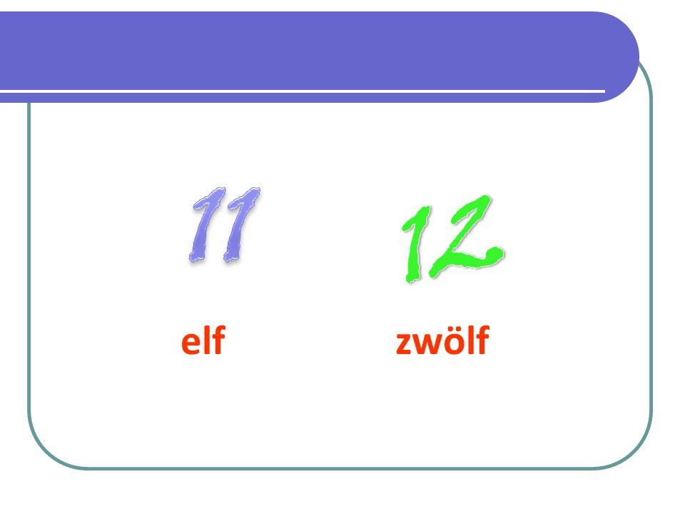 11 12 elf zwölf