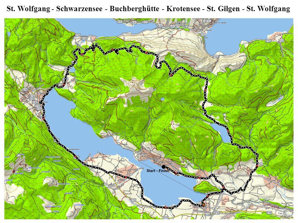 St. Wolfgang - Schwarzensee - Buchberghütte - Krotensee - St