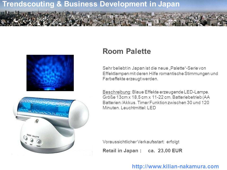 Room Palette Retail in Japan : ca. 23,00 EUR