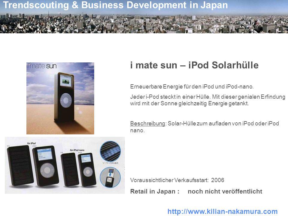 i mate sun – iPod Solarhülle