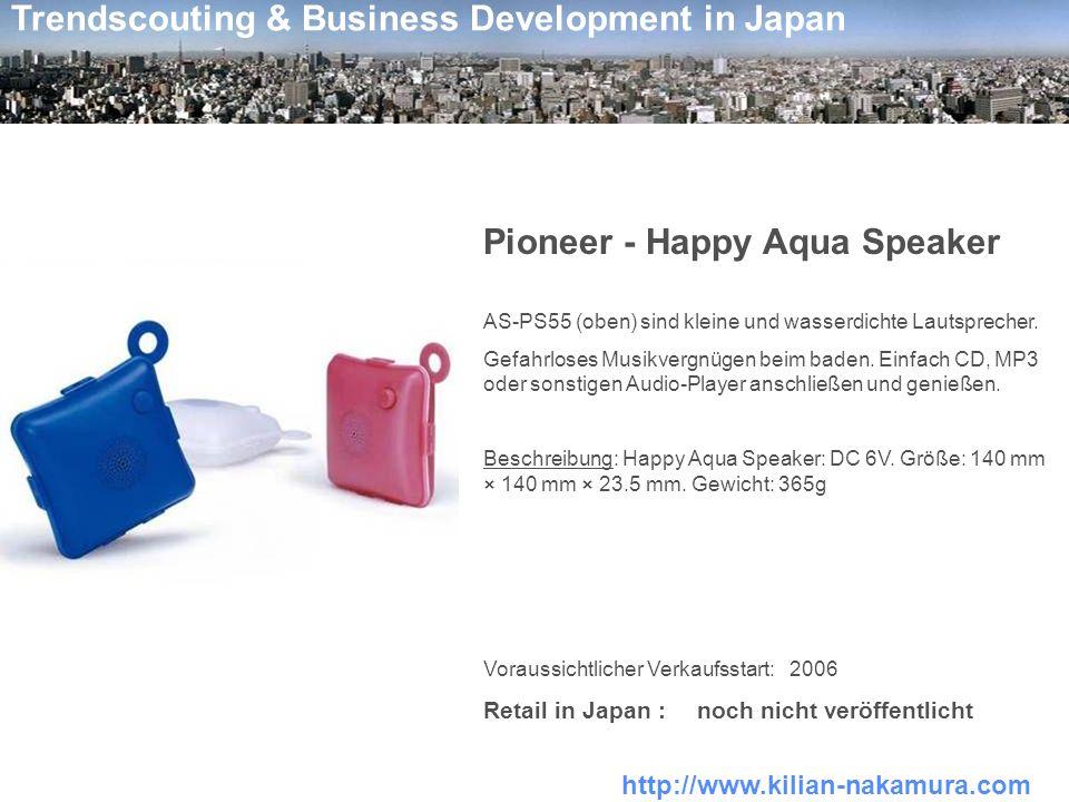 Pioneer - Happy Aqua Speaker