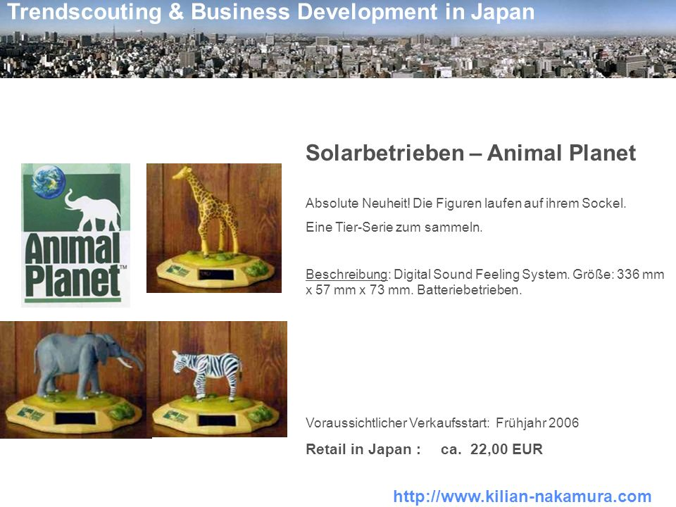 Solarbetrieben – Animal Planet