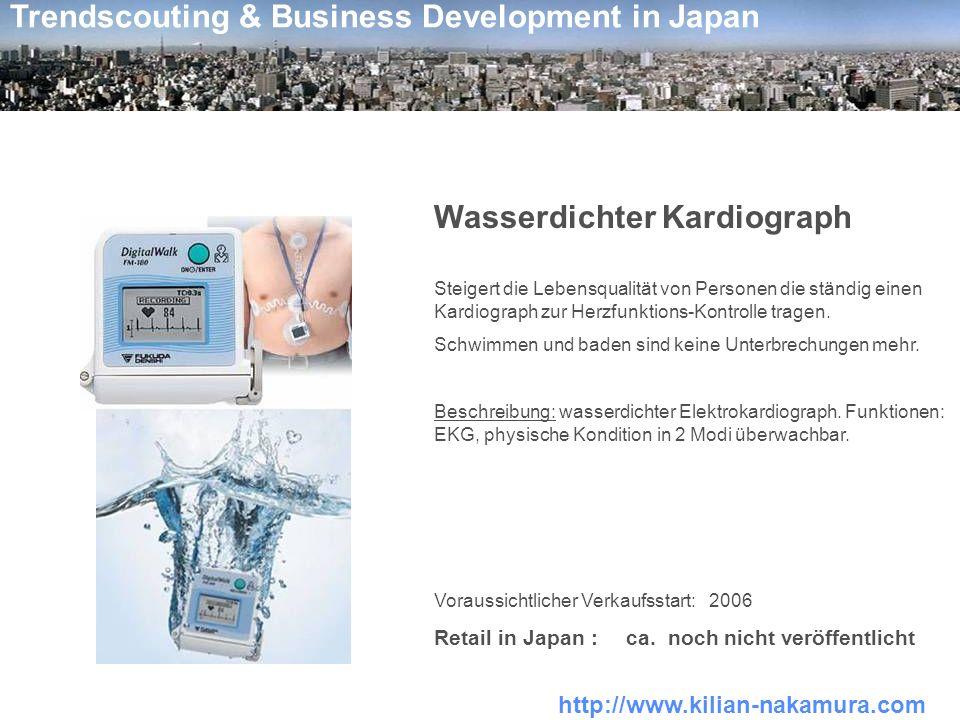 Wasserdichter Kardiograph