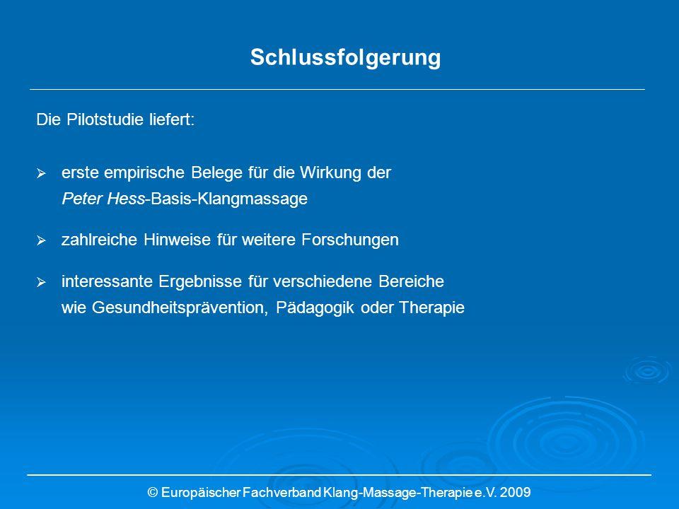 © Europäischer Fachverband Klang-Massage-Therapie e.V. 2009