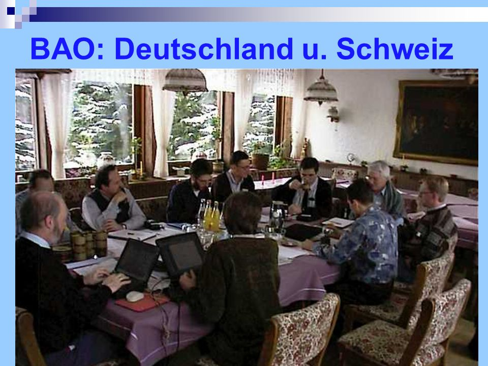 BAO: Deutschland u. Schweiz