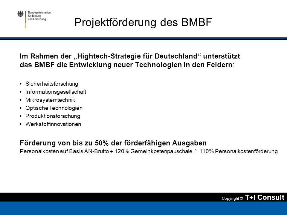 Projektförderung des BMBF