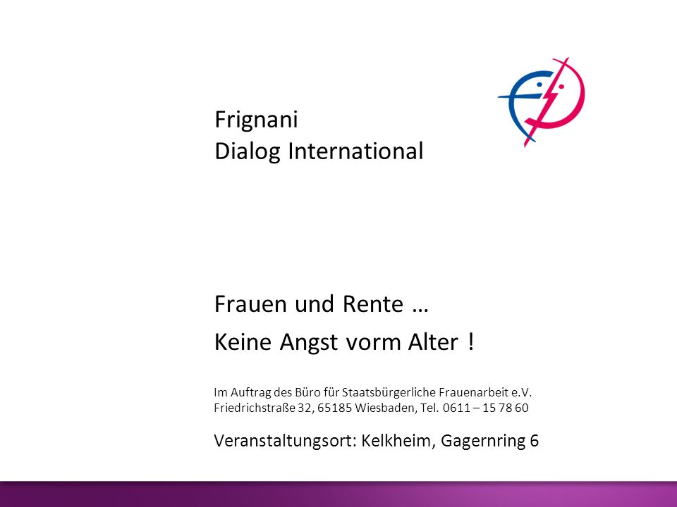 Frignani Dialog International