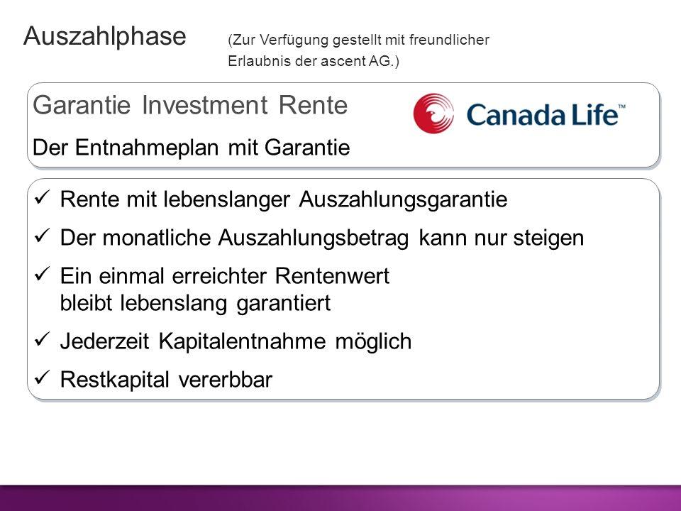 Garantie Investment Rente